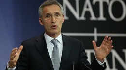 Ο γενικός γραμματέας του ΝΑΤΟ, Γενς Στόλτενμπεργκ. Φωτογραφία EPA, ΑΠΕ-ΜΠΕ