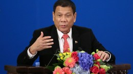 Philippines President Rodrigo Duterte. FILE PHOTO. EPA/WU HONG / POOL