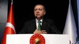 Ο Τούρκος Πρόεδρος Ταγίπ Ερντογάν. Φωτογραφία ΤΟΥΡΚΙΚΗ ΠΡΟΕΔΡΙΑ