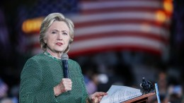 US Democratic Party presidential nominee Hillary Clinton participates in a campaign event at the University of North Carolina at Charlotte in Charlotte, North Carolina, USA. EPA, ERIK S. LESSER