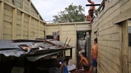Η πρωτεύουσα της Κούβας, όπου διαμένουν 2 εκατομμύρια κάτοικοι, βρίσκεται στις ακτές του Ατλαντικού και κινδυνεύει από την άνοδο της στάθμης της θάλασσας.. EPA, Alejandro Ernesto
