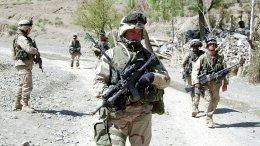 Αμερικανοί στρατιώτες στο Αφγανιστάν.