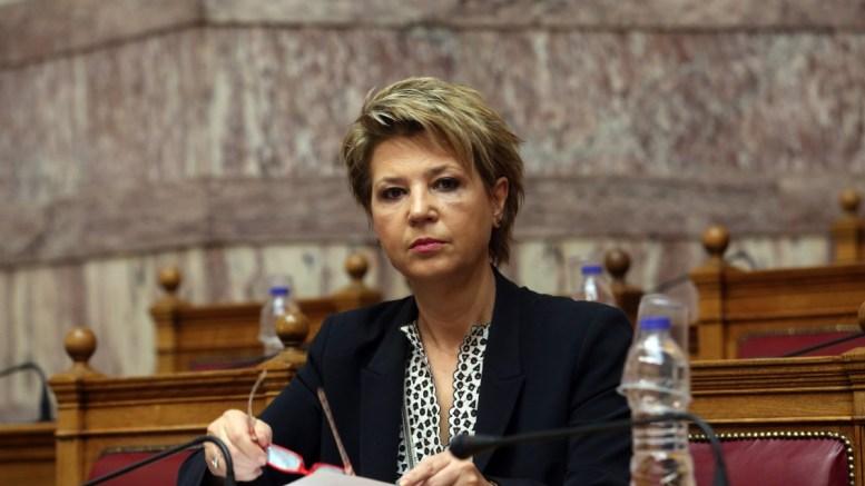 H υπoυργός Διοικητικής Ανασυγκρότησης, Όλγα Γεροβασίλη. ΑΠΕ-ΜΠΕ/Αλέξανδρος Μπελτές