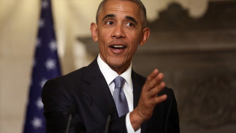 Ο Πρόεδρος των Ηνωμένων Πολιτειών της Αμερικής, Μπάρακ Ομπάμα. ΑΠΕ-ΜΠΕ/ΟΡΕΣΤΗΣ ΠΑΝΑΓΙΩΤΟΥ