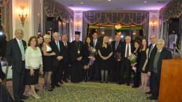 Ο Σύλλογος Ασγατιτών «Η Κύπρος» τίμησε τον Κώστα Κωνσταντινίδη. Φωτογραφία ΑΠΟΣΤΟΛΗΣ ΖΟΥΠΑΝΙΩΤΗΣ