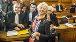 File Photo: International Monetary Fund (IMF) Managing Director and former Economy Minister Christine Lagarde appears in court at the Plais de Justice, in Paris, France, 12 December 2016. France's highest appeals court ordered on 22 July 2016 Lagarde to stand trial over a state payout to Bernard Tapie. Lagarde was charged for negligence over awarding more than 400 million euro during her time as economy minister in 2008. EPA, CHRISTOPHE PETIT TESSON