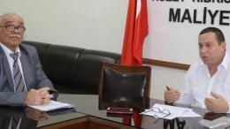 Ανησυχίες για τη διασφάλιση της πολιτικής ισότητας, της ανεξαρτησίας, των εδαφικών και περιουσιακών δικαιωμάτων αλλά και της εγγύησης των Τουρκοκυπρίων εξέφρασε ο παράνομος «αναπληρωτής πρωθυπουργός» του ψευδοκράτους Σερντάρ Ντενκτάς. Φωτογραφία via ΚΥΠΕ