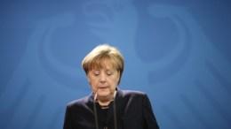 German Chancellor Angela Merkel. EPA, MICHAEL KAPPELER