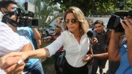 H σύζυγος του άτυχου διπλωμάτη Κυριάκου Αμοιρίδη, Φρανσουάζα ντε Σόουζα Ολιβέιρα συνελήφθη για τη δολοφονία του. Φωτογραφία Globo.