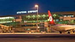 Το αεροδρόμιο της Κωνσταντινούπολης. Φωτογραφία www.ataturkairport.com