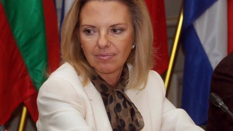 H ευρωβουλευτής της Νέας Δημοκρατίας, Ελίζα Βόζεμπεργκ. ΑΠΕ - ΜΠΕ/ΑΠΕ - ΜΠΕ/Αλέξανδρος Μπελτές