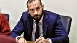 Ο υπουργός Επικρατείας και Κυβερνητικός Εκπρόσωπος Δημήτρης Τζανακόπουλος. ΑΠΕ-ΜΠΕ, ΨΩΜΑΣ ΒΑΣΙΛΗΣ