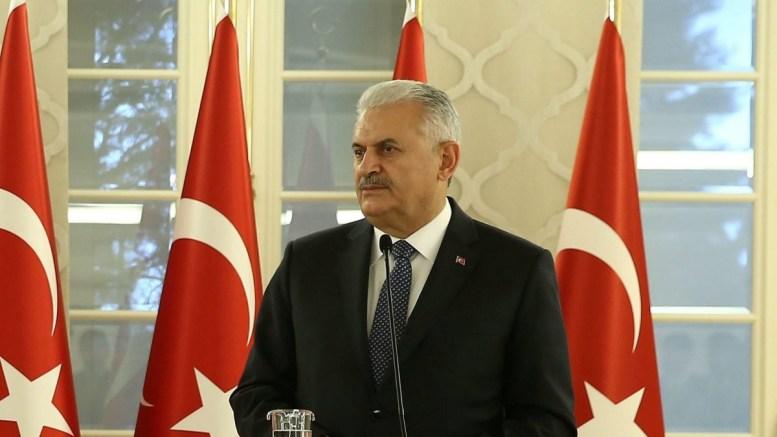 Ο πρωθυπουργός της Τουρκίας, Μπιναλί Γιλντιρίμ. EPA, TURKISH PRIME MINISTER PRESS OFFICE, HANDOUT EDITORIAL USE ONLY