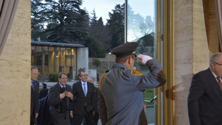 Ο Πρόεδρος της Κυπριακής Δημοκρατίας Νίκος Αναστασιάδης εισέρχεται στο κτίριο των Ηνωμένων Εθνών. Φωτογραφία ΑΡ. ΒΙΚΕΤΟΣ