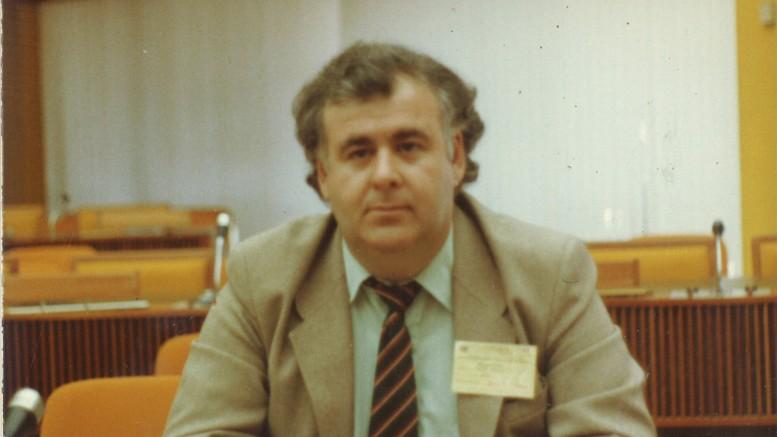"""Ο καθηγητής Θεόδωρος Καρυώτης, γνωστός και ως """"Πατέρας της ΑΟΖ"""""""