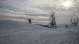 People enjoy cross-country skiing on a ski track in Prague, Czech Republic, 07 January 2017. Temperatures in Prague are around -7 Celsius degrees. EPA/MARTIN DIVISEK