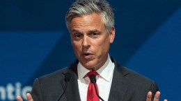 US politician Jon Huntsman. EPA/MACIEJ KULCZYNSKI POLAND OUT