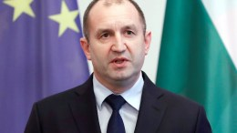 The President of Bulgaria, Rumen Radev. EPA/FELIPE TRUEBA