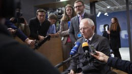 Wolfgang SCHAUBLE, German Federal Minister for Finance in Bruxelles - BELGIUM, Copyright: European Union