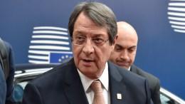 Ο Πρόεδρος της Κυπριακής Δημοκρατίας, Νίκος Αναστασιάδης. ΑΠΕ-ΜΠΕ,  CONSILIUM.EUROPA.EU, ΧΡΗΣΤΟΣ ΔΟΓΑΣ