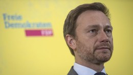 The Leader of the liberal party Free Democratic Party (FDP) of Germany, Christian Lindner. EPA/OLIVER WEIKEN