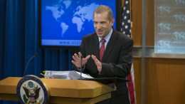 State Department spokesperson Mark Toner holds a news conference at the State Department in Washington, DC, USA. EPA, MICHAEL REYNOLDS