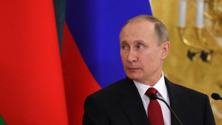 Russian President Vladimir Putin at Konstantin palace in St.Petersburg, Russia. EPA, MICHAEL KLIMENTYEV, SPUTNIK, KREMLIN POOL MANDATORY CREDIT