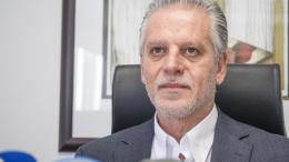 Ο πρόεδρος της; ΕΔΕΚ Μαρίνος Σιζόπουλος. Φωτογραφία ΚΥΠΕ.