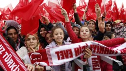 File Photo: Supporters of Turkish President Erdogan. EPA, TUMAY BERKIN