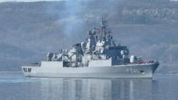 Πλοίο του τουρκικού πολεμικού ναυτικού. Photo via Turkish Navy