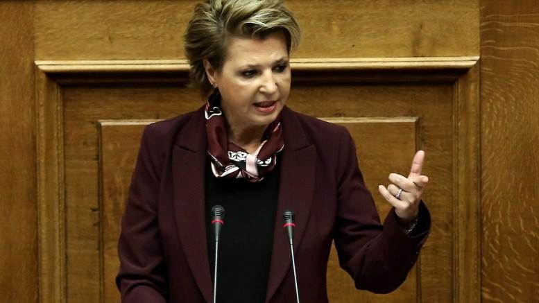 Η υπουργός Διοικητικής Ανασυγκρότησης, Όλγα Γεροβασίλη. ΑΠΕ-ΜΠΕ/ΑΠΕ-ΜΠΕ/ΣΥΜΕΛΑ ΠΑΝΤΖΑΡΤΖΗ