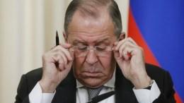 Russian Foreign Minister Sergei Lavrov. SERGEI CHIRIKOV