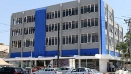 Άποψη του κτιρίου των γραφείων της Νέας Δημοκρατίας. ΑΠΕ-ΜΠΕ, Παντελής Σαίτας.