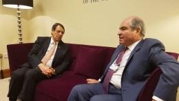 Συνάντηση με τον Πρωθυπουργό της Ιορδανίας Hani Mulki είχε ο Πρόεδρος της Δημοκρατίας Νίκος Αναστασιάδης στο Αμμάν, και συζήτησε το Κυπριακό, θέματα ενέργειας, διμερείς σχέσεις και περιφερειακά ζητήματα. Φωτογραφία PIO