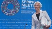File Photo: Managing Director of the International Monetary Fund (IMF) Christine Lagarde at the IMF headquarters in Washington, DC, USA, 20 April 2017. EPA, MICHAEL REYNOLDS