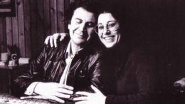 Η Μαρία Φαραντούρη με τον Μίκη Θεοδωράκη. Φωτογραφία ΑΠΕ-ΜΠΕ