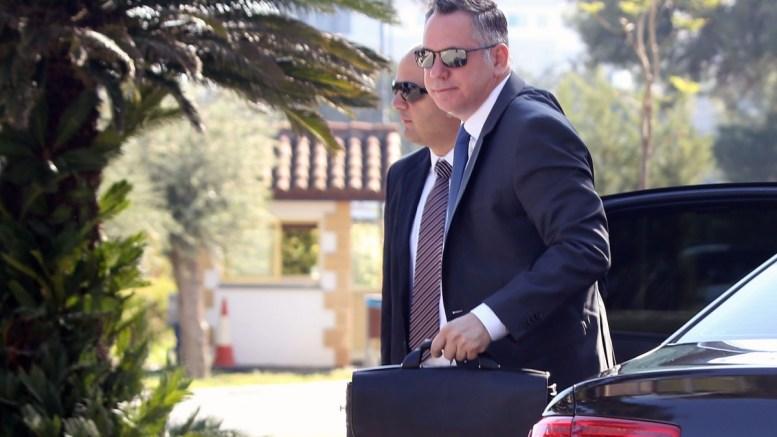 Φωτογραφία αρχείιυ Ο Πρόεδρος του ΔΗΚΟ Νικόλας Παπαδόπουλος προσέρχεται στο Προεδρικό Μέγαρο για να συμμετάσχει στη συνεδρία του Εθνικού Συμβουλίου. ΚΥΠΕ, KAΤΙΑ ΧΡΙΣΤΟΔΟΥΛΟΥ