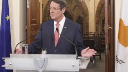Ο πρόεδρος της Κυπριακής Δημοκρατίας Νίκος Αναστασιάδης. ΦΩΤΟΓΡΑΦΙΑ ΑΡΧΕΙΟΥ, ΚΥΠΕ.
