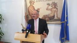 Ο δήμαρχος Λεμεσού, Νίκος Νικολαΐδης. ΚΥΠΕ.