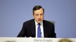 President of the European Central Bank (ECB) and chairman of the European systemic risk Board, Mario Draghi. FILE PHOTO. EPA/ARMANDO BABANI