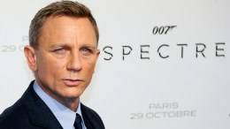 British actor/cast member Daniel Craig poses during the photocall of 'Spectre' at the Grand Rex cinema in Paris, France, 29 October 2015. The movie will be released in French theaters on 11 November.  EPA/IAN LANGSDON
