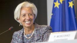 Η γενική διευθύντρια του ΔΝΤ Κριστίν Λαγκάρντ. Copyright: European Union