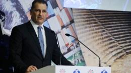 FILE PHOTO. O Υπουργός Ενέργειας, Εμπορίου, Βιομηχανίας και Τουρισμού κ. Γιώργος Λακκοτρύπης. ΚΥΠΕ, ΚΑΤΙΑ ΧΡΙΣΤΟΔΟΥΛΟΥ