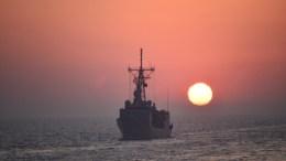 Πλοίο του τουρκικού Πολεμικού Ναυτικού. Φωτογραφία ΤΟΥΡΚΙΚΟ ΝΑΥΤΙΚΟ