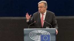 United Nations Secretary-General Antonio Guterres. EPA, PATRICK SEEGER