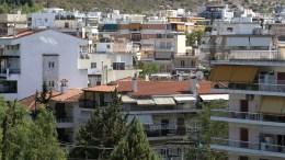 Οικισμός με πολυκατοικίες σε περιοχή της Αθήνας. ΑΠΕ-ΜΠΕ/ΣΥΜΕΛΑ ΠΑΝΤΖΑΡΤΖΗ