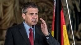 German Foreign Minister Sigmar Gabriel. EPA/MARTIN DIVISEK