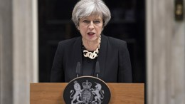 FILE PHOTO. British Prime Minister Theresa May. EPA/WILL OLIVER
