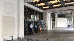 Τα κεντρικά γραφεία του ΔΝΤ. Φωτογραφία www.mignatiou.com