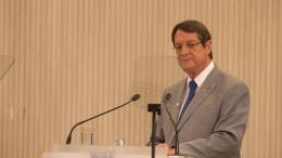 O Πρόεδρος της Κυπριακής Δημοκρατίας, Νίκος Αναστασιάδης. Φωτογραφία: ΚΥΠΕ.